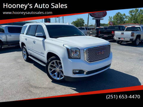 2016 GMC Yukon for sale at Hooney's Auto Sales in Theodore AL