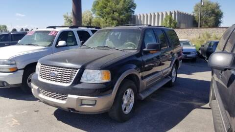 2003 Ford Expedition for sale at BELOW BOOK AUTO SALES in Idaho Falls ID
