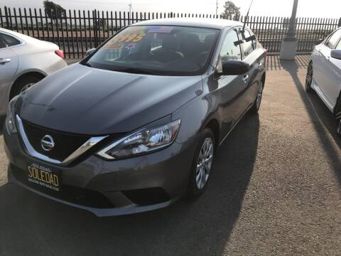 2018 Nissan Sentra for sale at Soledad Auto Sales in Soledad CA