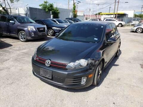 2012 Volkswagen GTI for sale at Bad Credit Call Fadi in Dallas TX