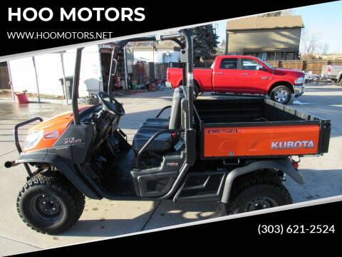 2018 Kubota RTV X900 for sale at HOO MOTORS in Kiowa CO