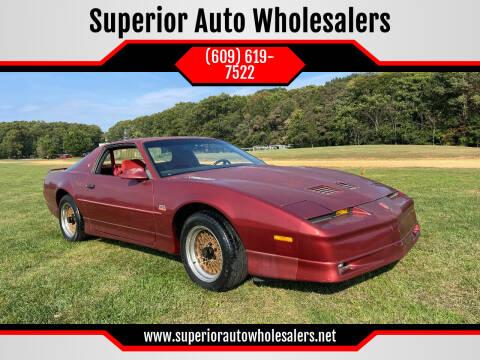 1987 Pontiac Firebird for sale at Superior Auto Wholesalers in Burlington NJ