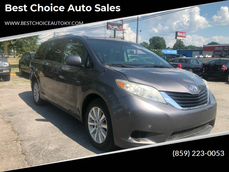 2011 Toyota Sienna for sale at Best Choice Auto Sales in Lexington KY