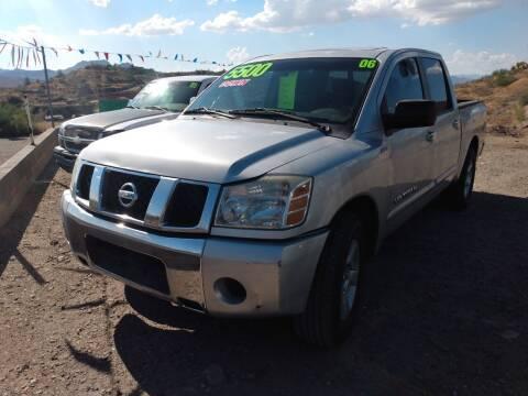 2006 Nissan Titan for sale at Hilltop Motors in Globe AZ