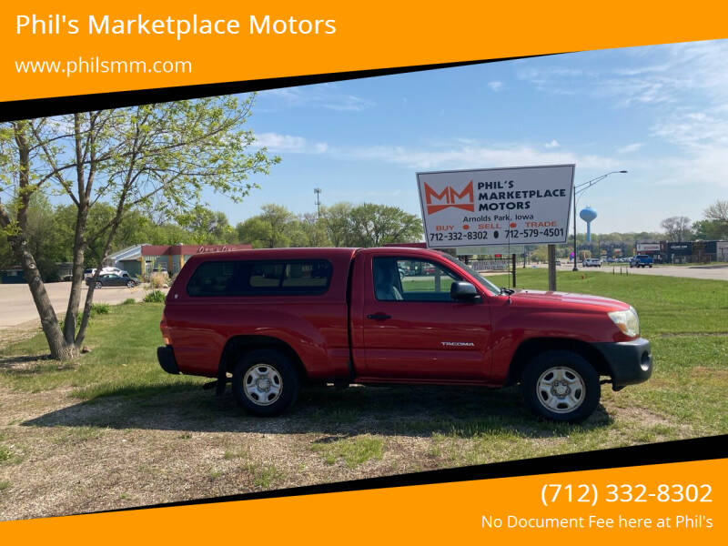 2007 Toyota Tacoma for sale at Phil's Marketplace Motors in Arnolds Park IA