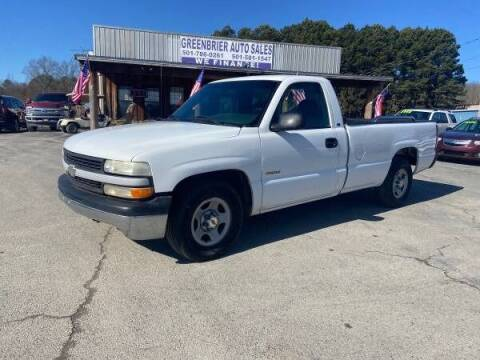 2000 Chevrolet Silverado 1500 for sale at Greenbrier Auto Sales in Greenbrier AR