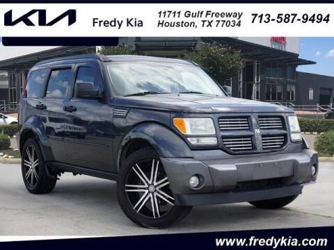 2011 Dodge Nitro for sale at FREDY KIA USED CARS in Houston TX