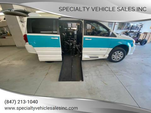 2017 Dodge Grand Caravan for sale at SPECIALTY VEHICLE SALES INC in Skokie IL