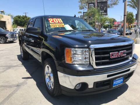 2011 GMC Sierra 1500 for sale at Sanmiguel Motors in South Gate CA
