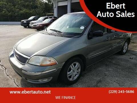 2002 Ford Windstar for sale at Ebert Auto Sales in Valdosta GA