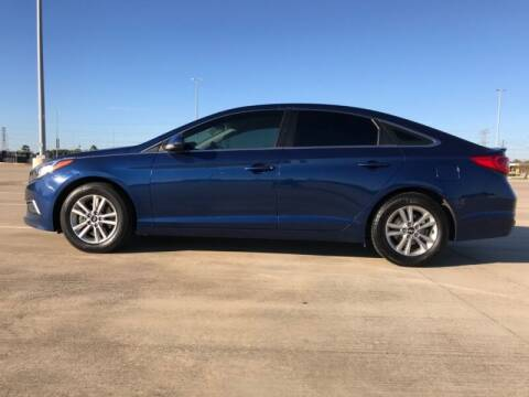 2017 Hyundai Sonata for sale at ALL AMERICAN FINANCE AND AUTO in Houston TX