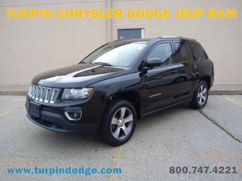 2016 Jeep Compass for sale at Turpin Dodge Chrysler Jeep Ram in Dubuque IA