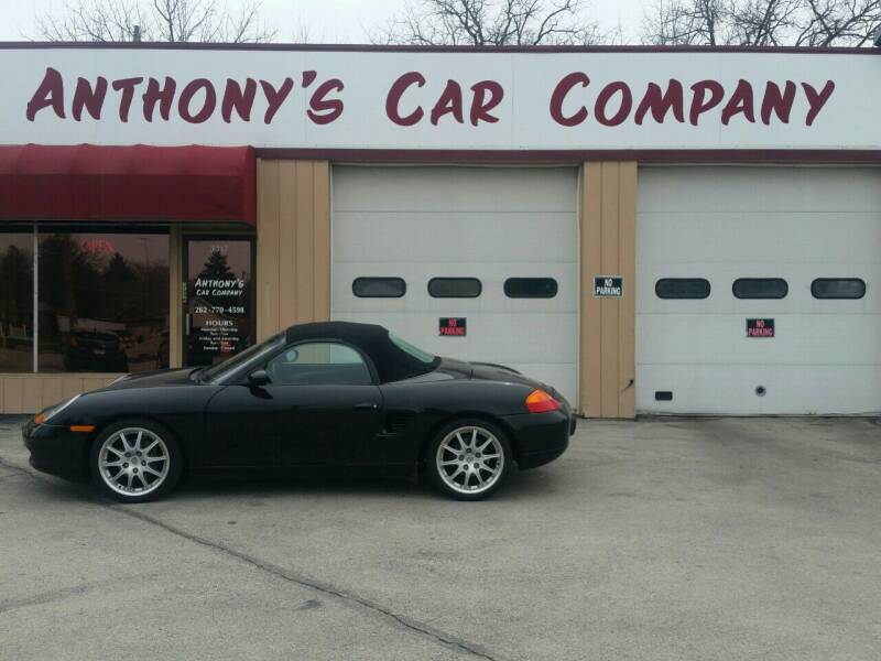 1999 Porsche Boxster for sale at Anthony's Car Company in Racine WI