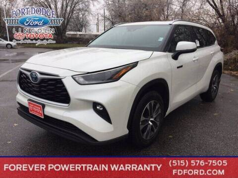 2021 Toyota Highlander Hybrid for sale at Fort Dodge Ford Lincoln Toyota in Fort Dodge IA