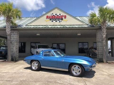 1965 Chevrolet Corvette for sale at Rabeaux's Auto Sales in Lafayette LA