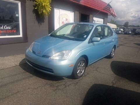 2001 Toyota Prius for sale at Bonney Lake Used Cars in Puyallup WA