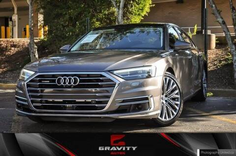 2019 Audi A8 L for sale at Gravity Autos Atlanta in Atlanta GA