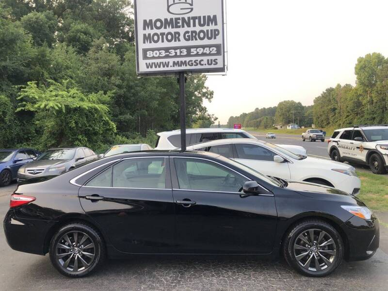 2015 Toyota Camry for sale at Momentum Motor Group in Lancaster SC