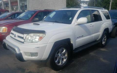 2004 Toyota 4Runner for sale at Rayyan Auto Sales LLC in Lexington KY