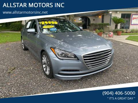 2015 Hyundai Genesis for sale at ALLSTAR MOTORS INC in Middleburg FL