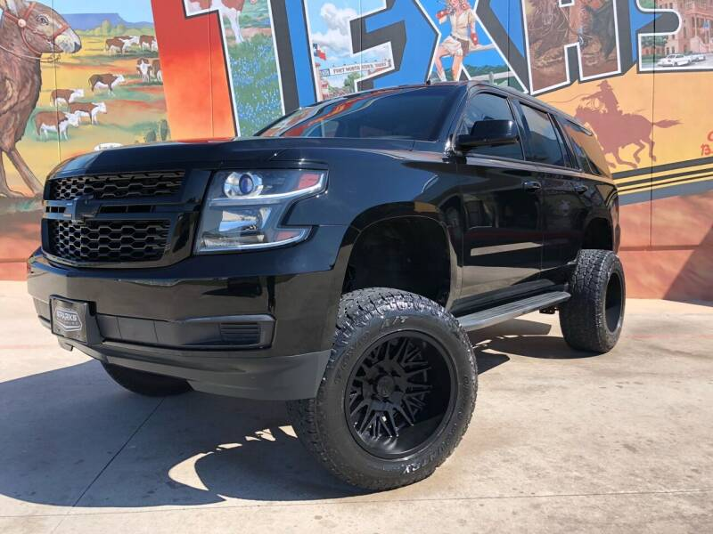 2015 Chevrolet Tahoe for sale at Sparks Autoplex Inc. in Fort Worth TX