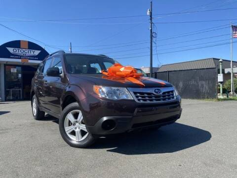 2013 Subaru Forester for sale at OTOCITY in Totowa NJ