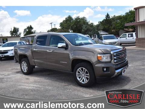 2016 GMC Canyon for sale at Carlisle Motors in Lubbock TX