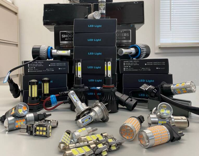LED Led Headlight Bulbs for sale at Shooters Auto Sales in Fort Worth TX