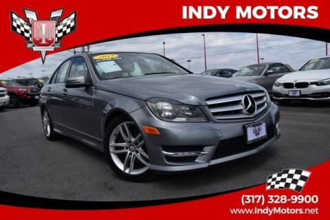 2012 Mercedes-Benz C-Class for sale at Indy Motors Inc in Indianapolis IN