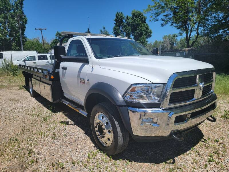 2012 RAM Ram Chassis 5500 for sale at Red Rock's Autos in Denver CO