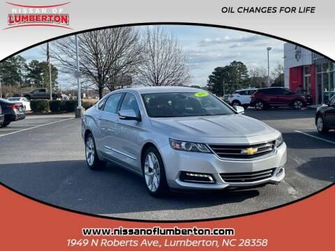 2018 Chevrolet Impala for sale at Nissan of Lumberton in Lumberton NC
