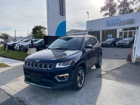 2017 Jeep Compass for sale at NYC Motorcars in Freeport NY