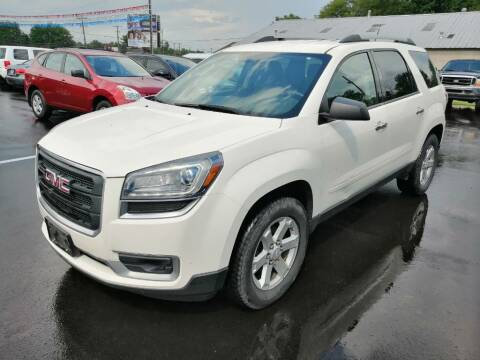 2014 GMC Acadia for sale at KRIS RADIO QUALITY KARS INC in Mansfield OH