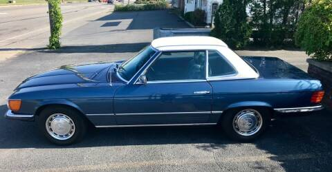 1973 Mercedes-Benz 450 SL for sale at R & R Motors in Queensbury NY
