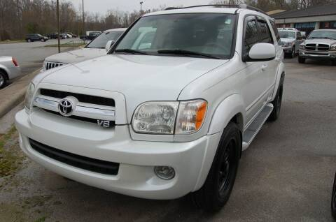 2005 Toyota Sequoia for sale at Modern Motors - Thomasville INC in Thomasville NC