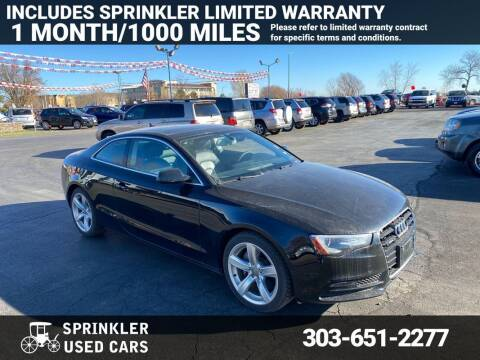 2014 Audi A5 for sale at Sprinkler Used Cars in Longmont CO