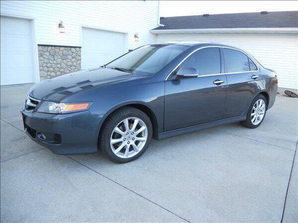 2007 Acura TSX for sale at OLSON AUTO EXCHANGE LLC in Stoughton WI