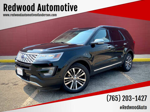2016 Ford Explorer for sale at Redwood Automotive in Anderson IN