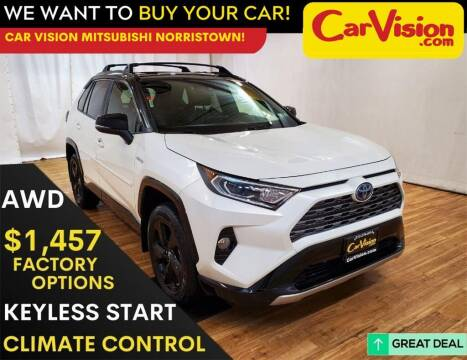 2019 Toyota RAV4 Hybrid for sale at Car Vision Mitsubishi Norristown in Trooper PA