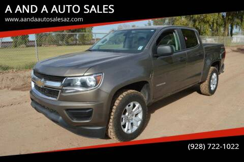 2015 Chevrolet Colorado for sale at A AND A AUTO SALES - Yuma Location in Yuma AZ