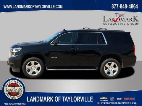 2017 Chevrolet Tahoe for sale at LANDMARK OF TAYLORVILLE in Taylorville IL