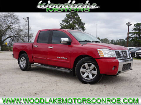 2005 Nissan Titan for sale at WOODLAKE MOTORS in Conroe TX