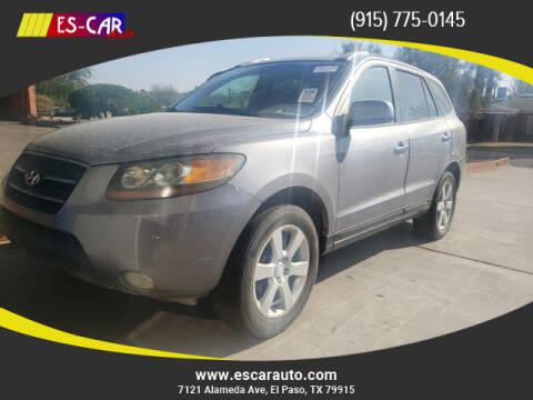 2007 Hyundai Santa Fe for sale at Escar Auto in El Paso TX