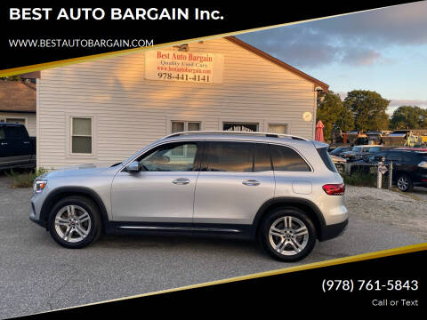 2020 Mercedes-Benz GLB for sale at BEST AUTO BARGAIN inc. in Lowell MA