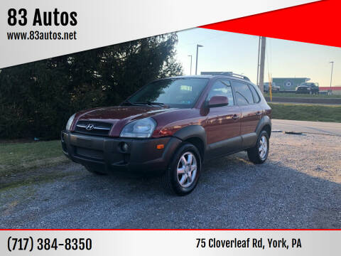 2005 Hyundai Tucson for sale at 83 Autos in York PA