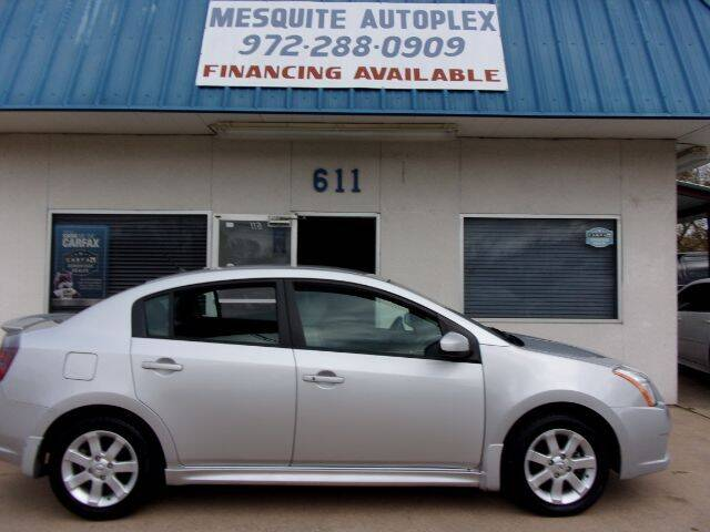 2012 Nissan Sentra for sale at MESQUITE AUTOPLEX in Mesquite TX