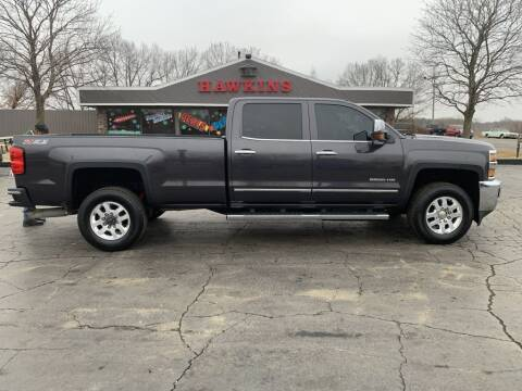 2015 Chevrolet Silverado 2500HD for sale at Hawkins Motors Sales in Hillsdale MI