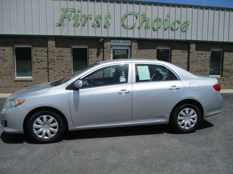 2010 Toyota Corolla for sale at First Choice Auto in Greenville SC