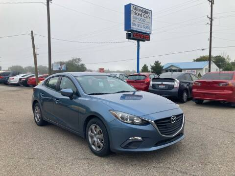 2014 Mazda MAZDA3 for sale at AFFORDABLY PRICED CARS LLC in Mountain Home ID