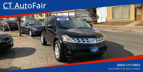 2003 Nissan Murano for sale at CT AutoFair in West Hartford CT